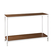 CLOSEOUT! Westmoor Industrial Rectangular Console Table with Storage Shelf