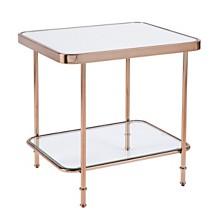 Goldsboro Mirrored End Table