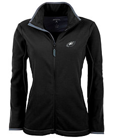 Antigua Women's Philadelphia Eagles Ice Full-Zip Jacket