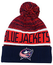 Authentic NHL Headwear Columbus Blue Jackets Goalie Knit Hat