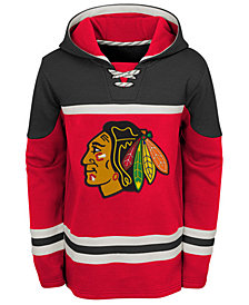 Outerstuff Chicago Blackhawks Asset Hoodie, Big Boys (8-20)