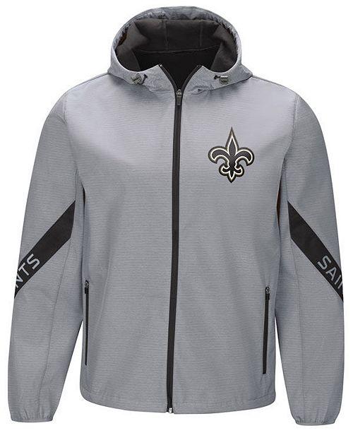 3da65f43a7 G-III Sports Men s New Orleans Saints Crossover Soft Shell Jacket ...