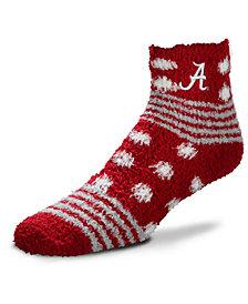 For Bare Feet Alabama Crimson Tide Homegater Sleep Soft Socks