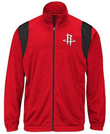 G-III Sports Men's Houston Rockets Clutch Time Track Jacket