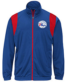 G-III Sports Men's Philadelphia 76ers Clutch Time Track Jacket