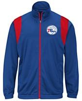 G-III Sports Men s Philadelphia 76ers Clutch Time Track Jacket f2bf16635ec