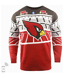Forever Collectibles Men's Arizona Cardinals Bluetooth Sweater