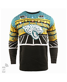 Forever Collectibles Men's Jacksonville Jaguars Bluetooth Sweater