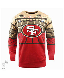 Forever Collectibles Men's San Francisco 49ers Bluetooth Sweater
