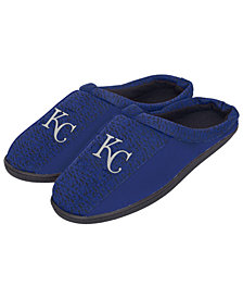 Forever Collectibles Kansas City Royals Knit Cup Sole Slippers