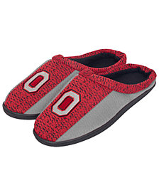 Forever Collectibles Ohio State Buckeyes Knit Cup Sole Slippers