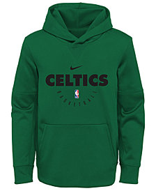 Nike Boston Celtics Spotlight Hoodie, Big Boys (8-20)