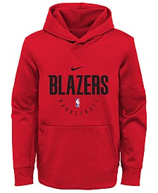 Nike Portland Trail Blazers Spotlight Hoodie, Big Boys (8-20)