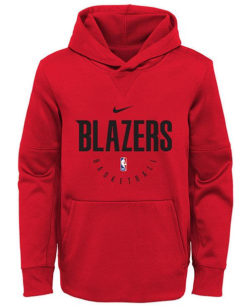 Outerstuff Nike Portland Trail Blazers Spotlight Hoodie, Big Boys (8-20)