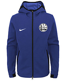 Nike Golden State Warriors Showtime Hooded Jacket, Big Boys (8-20)