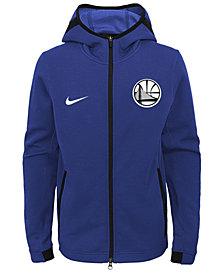 Nike Golden State Warriors Showtime Hooded Jacket, Big Boys (8-20)