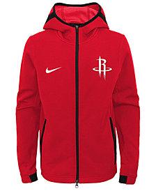 Nike Houston Rockets Showtime Hooded Jacket, Big Boys (8-20)
