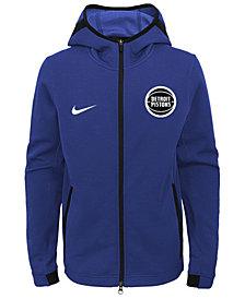 Nike Detroit Pistons Showtime Hooded Jacket, Big Boys (8-20)
