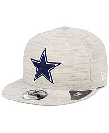 New Era Dallas Cowboys Luxe Gray 9FIFTY Snapback Cap