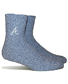 Atlanta Braves Parkway Team Fuzzy Socks