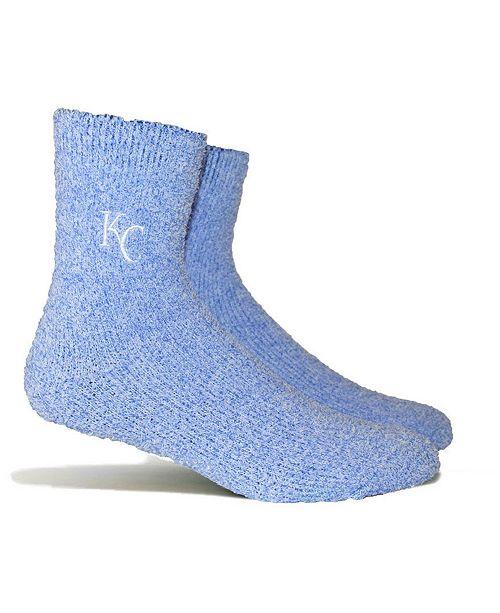 PKWY Kansas City Royals Parkway Team Fuzzy Socks