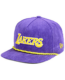 more photos 8d529 54465 New Era Los Angeles Lakers Hardwood Classic Nights Cords 9FIFTY Snapback Cap