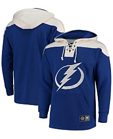 Majestic Men's Tampa Bay Lightning Breakaway Lace Up Hoodie