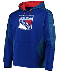 Majestic Men's New York Rangers Armor Streak Hoodie