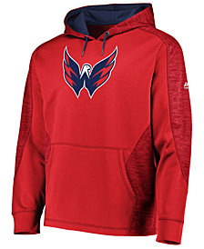 Majestic Men's Washington Capitals Armor Streak Hoodie