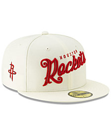 New Era Houston Rockets Jersey Script 59FIFTY-FITTED Cap