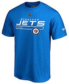 Majestic Men's Winnipeg Jets Rinkside Prime T-Shirt