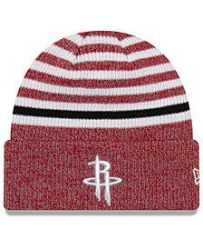 New Era Houston Rockets Striped Cuff Knit Hat