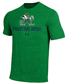 Under Armour Men's Notre Dame Fighting Irish Heat Gear Tri-Blend T-Shirt
