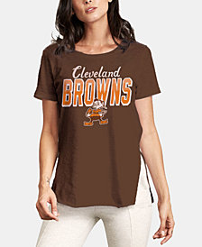 Authentic NFL Apparel Women's Cleveland Browns Short Sleeve T-Shirt