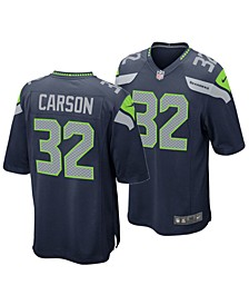 Men's Chris Carson Seattle Seahawks Game Jersey