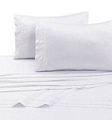 Tribeca Living 300 Thread Count Bamboo from Rayon Extra Deep Pocket King Sheet Set