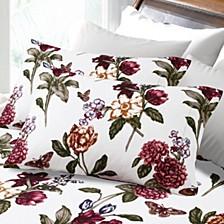 200-Gsm Flannel Blossoms Printed Extra Deep Pocket Flannel Set