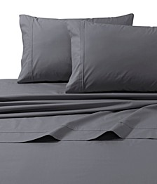 300 Thread Count Cotton Percale Extra Deep Pocket Full Sheet Set