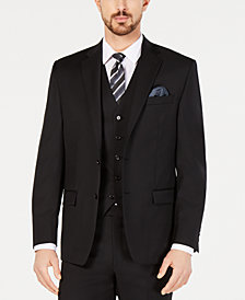 Lauren Ralph Lauren Men's Classic-Fit UltraFlex Stretch Black Suit Jacket