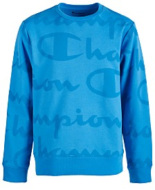 Champion Little Boys Script-Print Sweatshirt