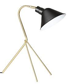 JONATHAN Y Mae Brass Led Desk Lamp
