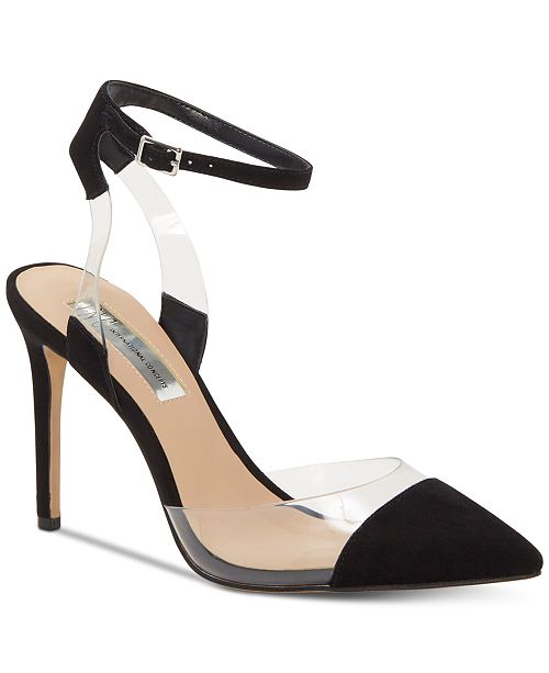 INC International Concepts INC Women's Kaija Pointed-Toe Evening Pumps, Created for Macy's