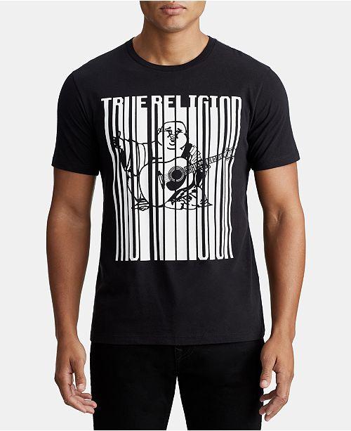 True Religion Mens Stretch Type Graphic T-Shirt
