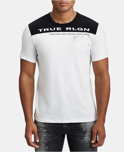 True Religion Mens Logo Graphic T-Shirt