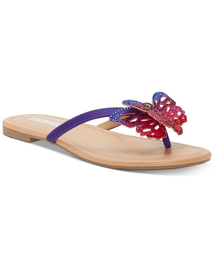 INC International Concepts - Marsha Butterfly Flip-Flop Sandals