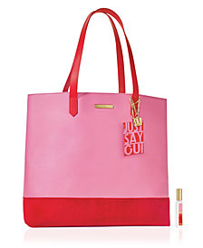 Juicy Couture Oui Rollerball + Tote Set - Only $25 with any large spray purchase from the Juicy Couture fragrance collection