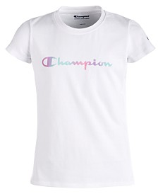 Champion Heritage Logo-Print T-Shirt, Little Girls
