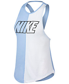 Nike Miler Dri-FIT Colorblocked Running Tank Top