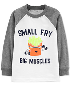 Carter's Toddler Boys Graphic-Print Cotton T-Shirt