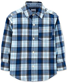 Carter's Toddler Boys Plaid Cotton Shirt